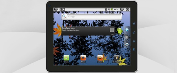 Impression 10 Android tablet