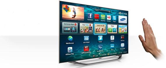 Samsung Smart TV Gesture Controls