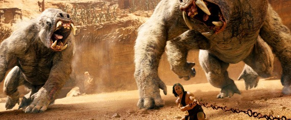 Disney's John Carter Blu-ray 3D