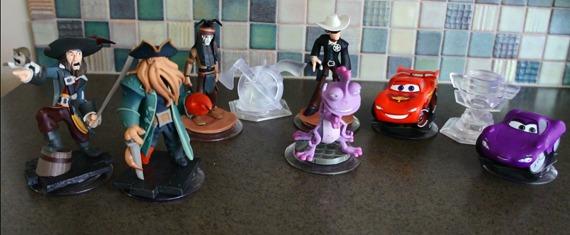 Disney Infinity Figures Toys Play Sets