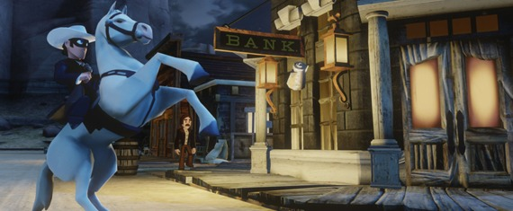 Disney Infinity Lone Ranger Play Set