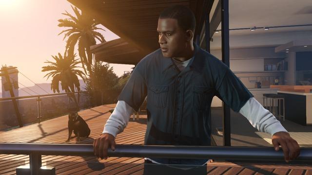 GTA V Screenshot: The Fast Life 6