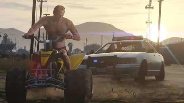 GTA V Screenshot: The Fast Life 8