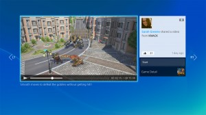 "PS4 interface: ""Gallery View Video"""