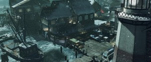 Call of Duty: Ghosts Whiteout multiplayer map