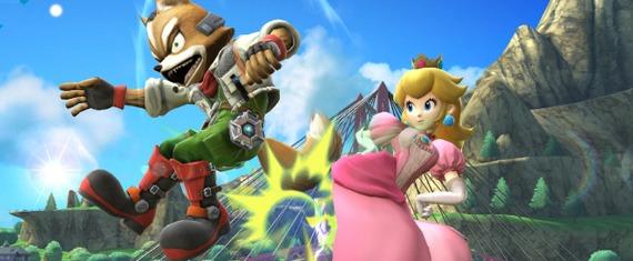 Princess Peach Super Smash Bros.