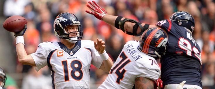 Denver Broncos Peyton Manning Texans JJ Watt
