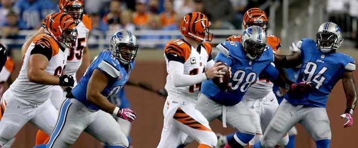 Cincinnati Bengals Andy Dalton Detroit Lions