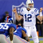 Indianapolis Colts Andrew Luck NY Giants