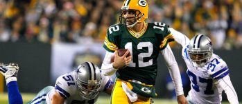 Green Bay Packers Aaron Rodgers vs Cowboys