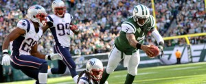 NY Jets Geno Smith New England Patriots