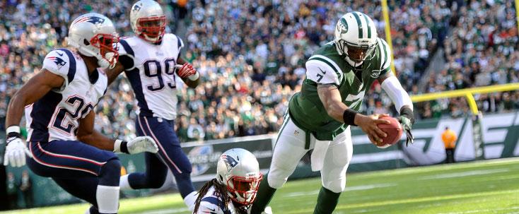 NY Jets Geno Smith New England Patriots