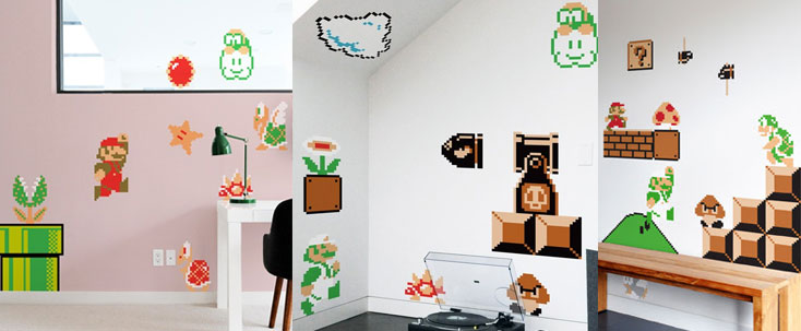 Nintendo Power-Ups Decals