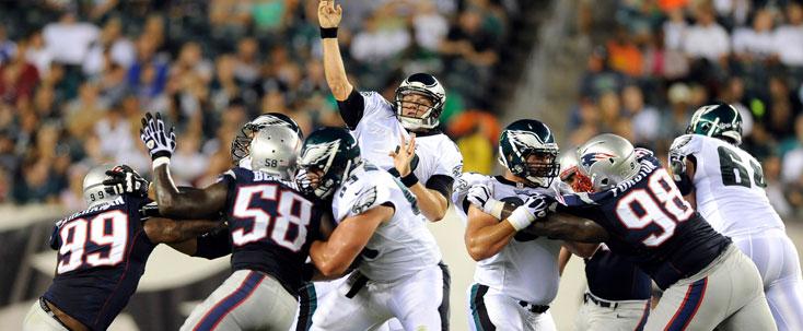 New England Patriots Philadelphia Eagles