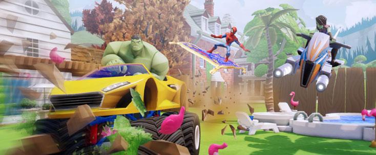 Disney Infinity 2.0 Toy Box Mode Marvel