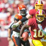 Washington Redskins RG3 Robert Griffin III Bengals