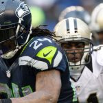 Seattle Seahawks Marshawn Lynch vs. New Orleans Saints