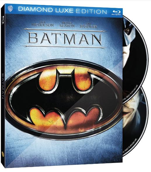Batman 25th Anniversary Edition Blu-ray box art