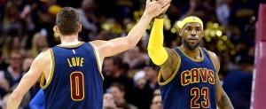 Lebron James Kevin Love Cavaliers