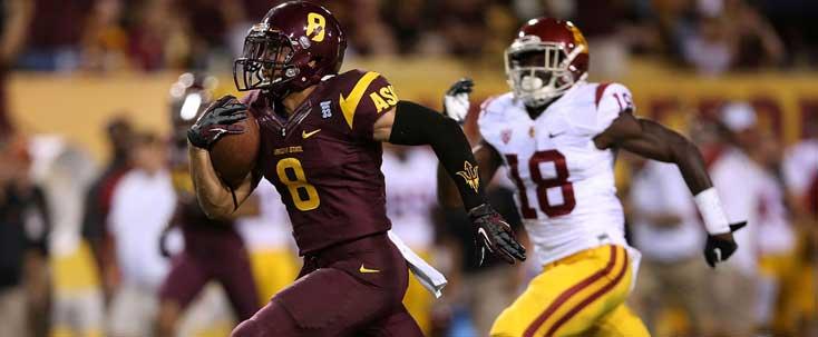 Arizona State football DJ Foster vs USC Trojans
