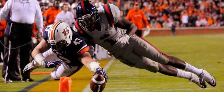 Auburn football vs Ole Miss football