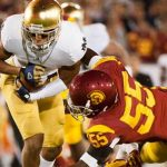 USC Trojans football vs Notre Dame Fighting Irish football