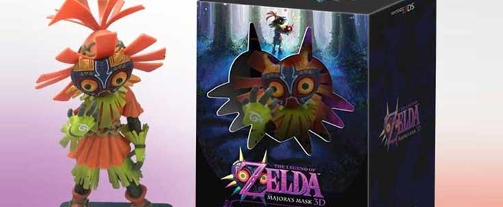 Legend of Zelda Majora's Mask 3D Bundle