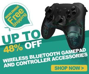 Wireless Bluetooth Gamepad of Gearbest.com