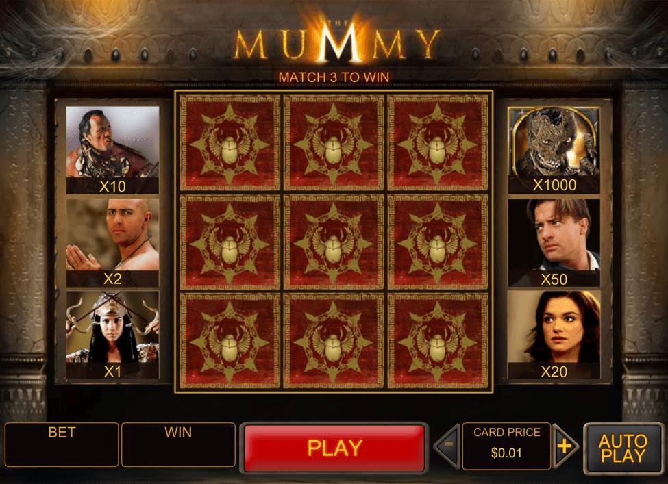 Mummy game - Mummy game