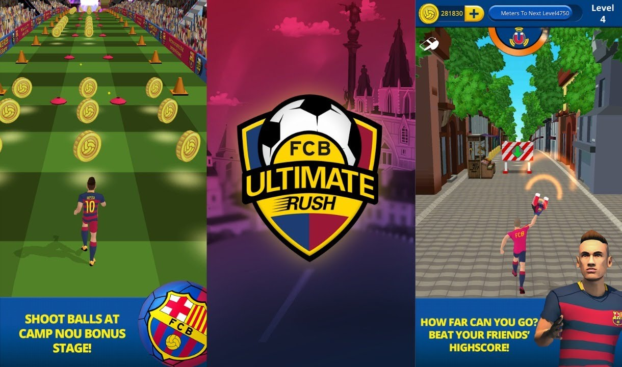 FCB unlimited rush - FCB unlimited rush