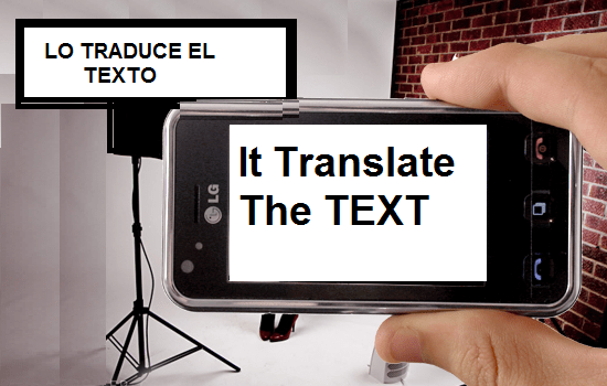 Translate printed text