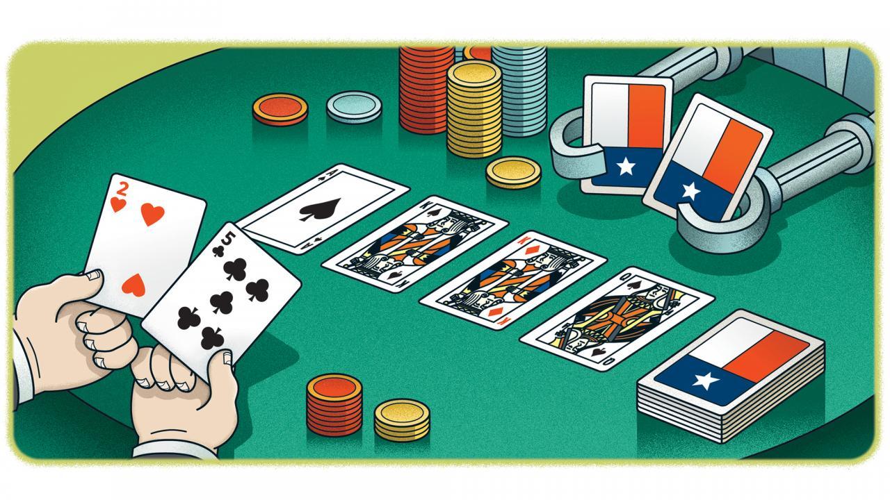 Gambling on football for a living