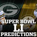 Super Bowl LI Winner Predictions