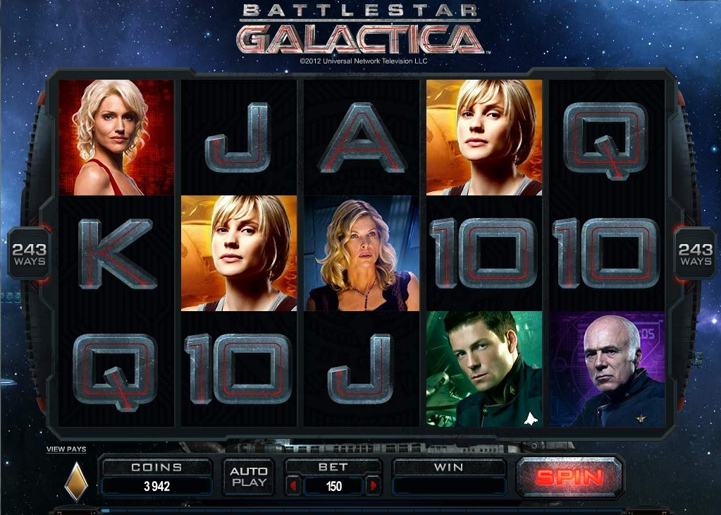 Battlestar galactica slot game play free super jackpot party slots