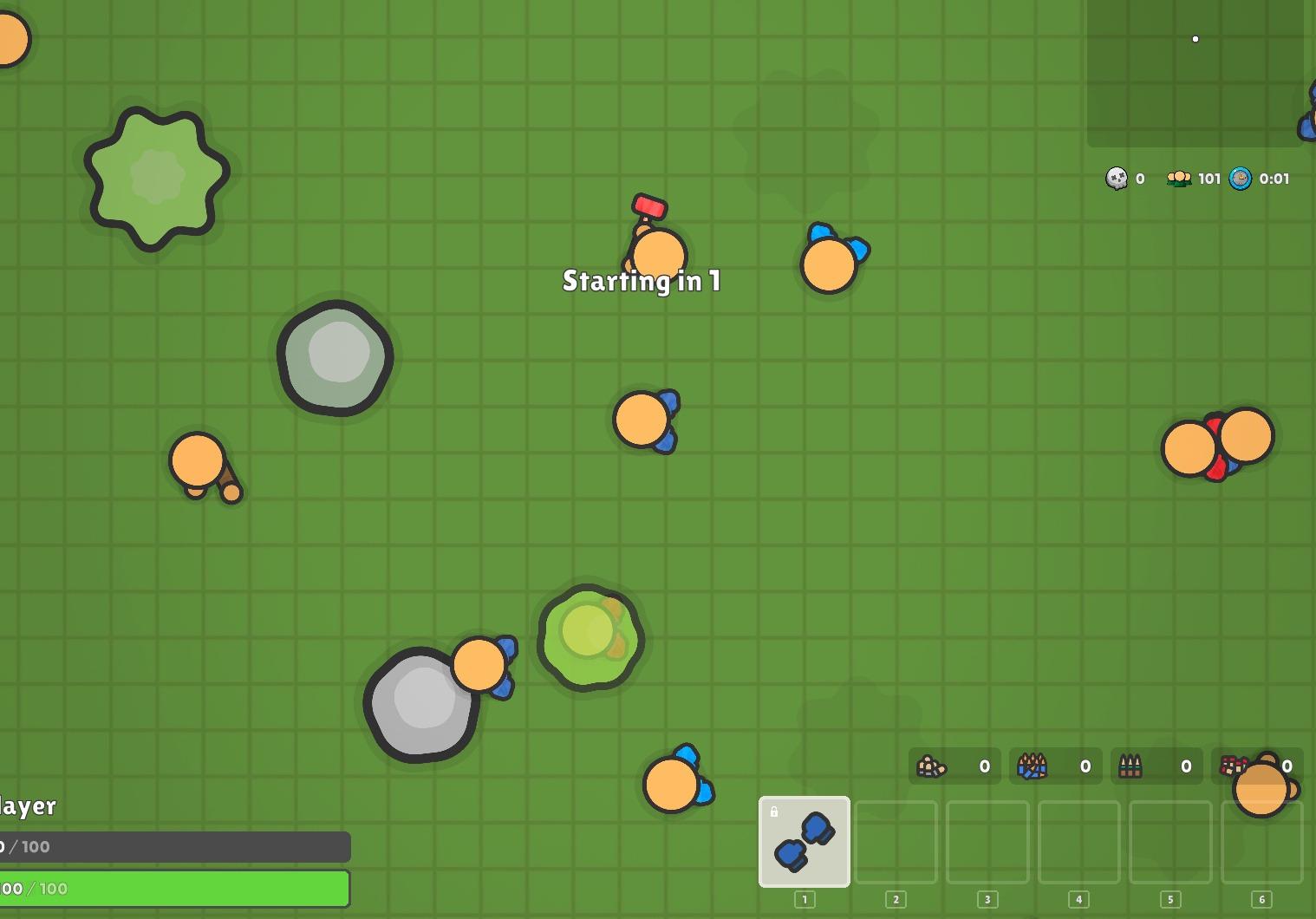 Game battling