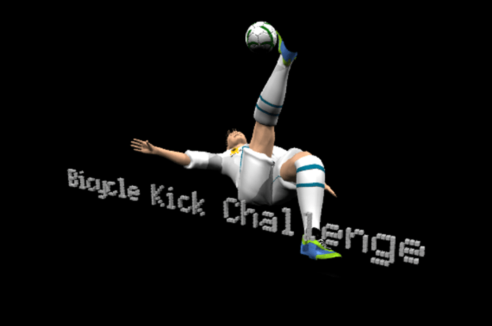 Bicycle kick challenge