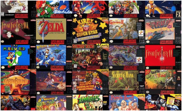 snes game