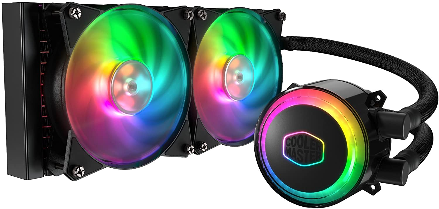 cooler master masterliquid ml240r addressable rgb close loop aio cpu liquid cooler 240 - cooler-master-masterliquid-ml240r-addressable-rgb-close-loop-aio-cpu-liquid-cooler-240
