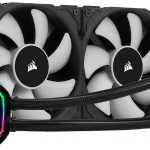 corsair icue h100i rgb pro xt 240mm radiator dual 120mm pwm fans software control liquid cpu cooler 150x150 - Best CPU Cooler For i7 8700k