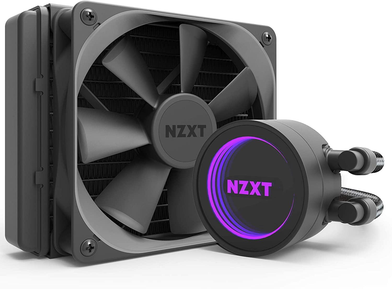 nzxt kraken m22 120mm rl krm22 01 aio rgb cpu liquid cooler - nzxt-kraken-m22-120mm-rl-krm22-01-aio-rgb-cpu-liquid-cooler