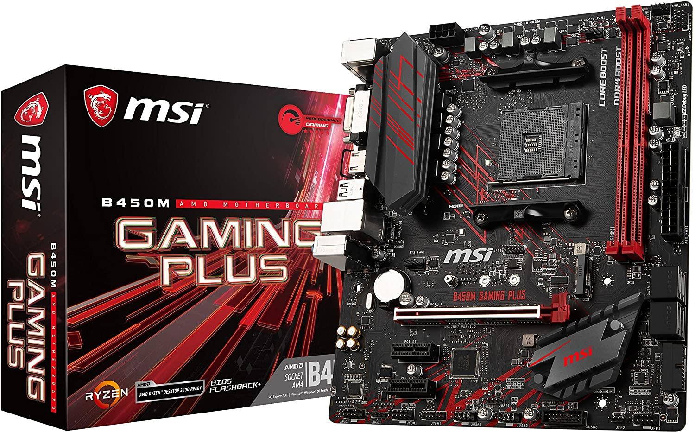 B450M Gaming Plus - B450M-Gaming-Plus
