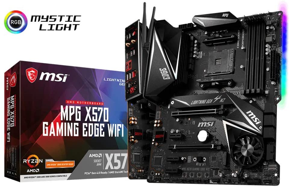 MSI MPG X570 GAMING EDGE WIFI - MSI-MPG-X570-GAMING-EDGE-WIFI