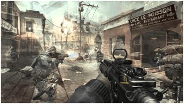 modern warfare - modern warfare