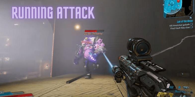 Running Attack - Running Attack