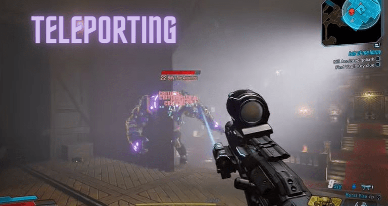 Teleporting - Teleporting